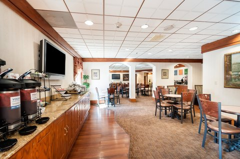 Comfort Inn Shady Grove - Gaithersburg - Rockville - Breakfast
