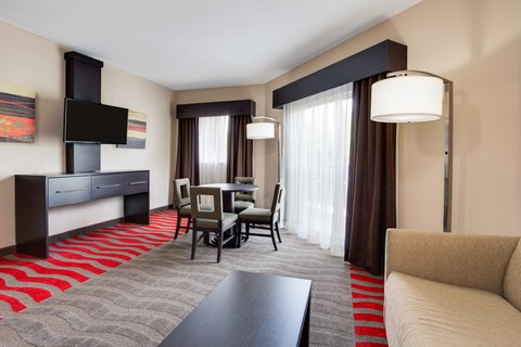 Fairfield Inn And Suites By Marriott Naples Hotel - King Suite Living Area