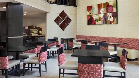 Fairfield Inn And Suites By Marriott Naples Hotel - Breakfast area is located near the lobby