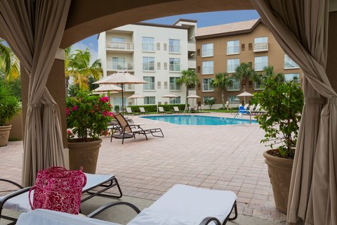 Fairfield Inn And Suites By Marriott Naples Hotel - Outdoor pool cabanas are just what you need to relax