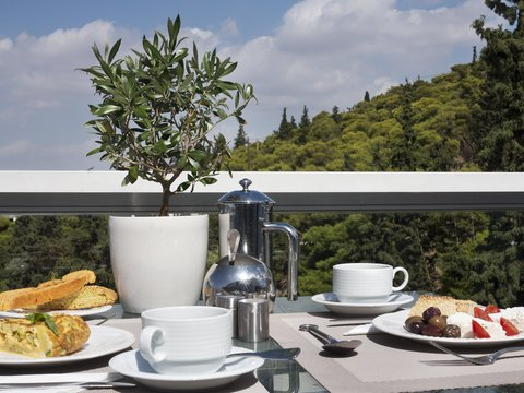St George Lycabettus Hotel - Breakfast