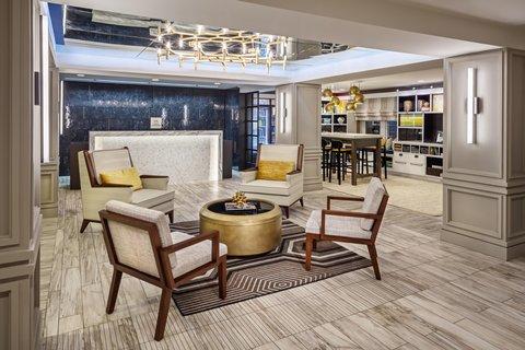 Partridge Inn - Hotel Lobby