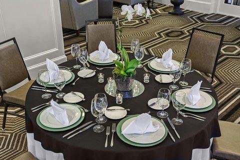 Partridge Inn - Ballroom Tabletop