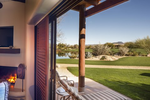 Boulders Resort & Golden Door Spa - Casita Porch