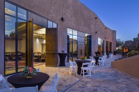 Boulders Resort & Golden Door Spa - Latilla Ballroom Terrace