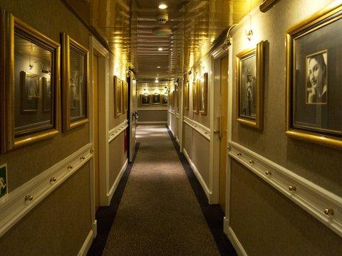 St George Lycabettus Hotel - Exterioe room Corridor
