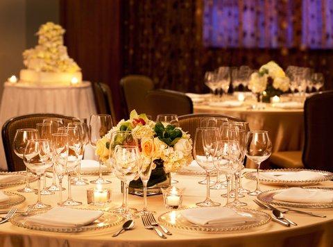 Crowne Plaza BOSTON - NEWTON - Wedding Reception Table