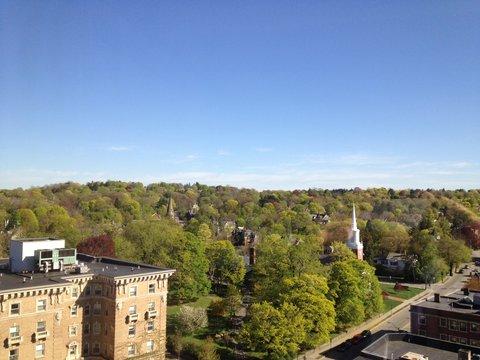 Crowne Plaza BOSTON - NEWTON - View from Hotel