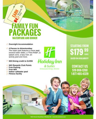 Holiday Inn Hotel And Suites Windsor Ambassador Bridge - HIWFun Pkg
