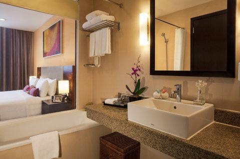 薩默塞特和平公寓式酒店 - Bathroom of 1 Bedroom Deluxe