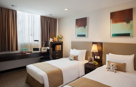 薩默塞特和平公寓式酒店 - Second Bedroom of 2 Bedroom Executive