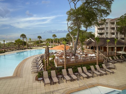 Hilton Oceanfront Resort Hilton Head Island - Buoy Bar