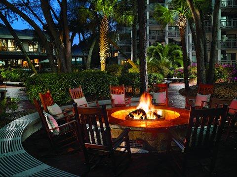 Hilton Oceanfront Resort Hilton Head Island - Firepit