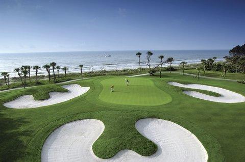 Hilton Oceanfront Resort Hilton Head Island - Golfing by the ocean
