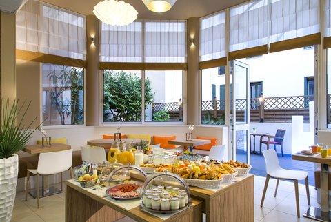卡諾戛納馨樂庭酒店 - Breakfast room of Citadines Croisette Cannes