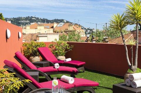 卡諾戛納馨樂庭酒店 - Terrace of Citadines City Croisette Cannes