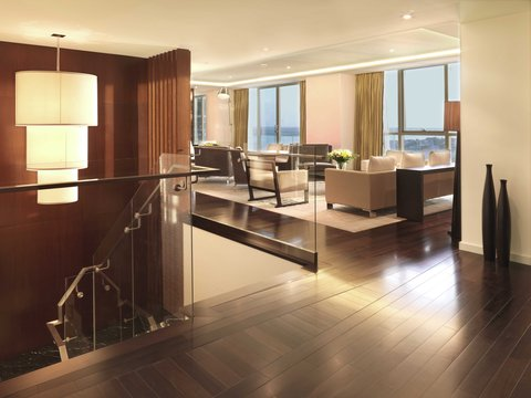 InterContinental RESIDENCE SUITES DUBAI F.C. - The Living Room of the Royal Suite