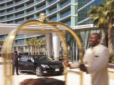 InterContinental RESIDENCE SUITES DUBAI F.C. - Enter Into a World of Luxury