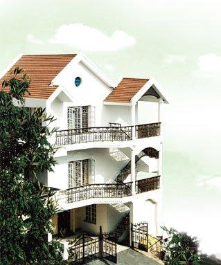 D Habitat Serviced Apartments - Facade