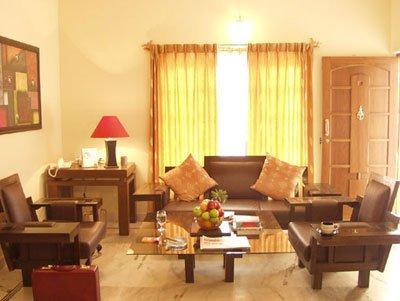 D Habitat Serviced Apartments - Living Room