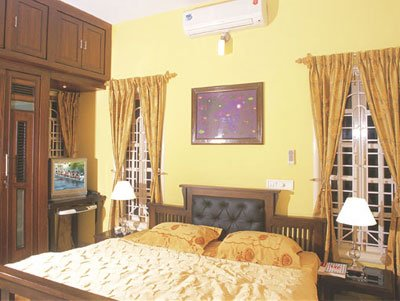 D Habitat Serviced Apartments - Bed Room