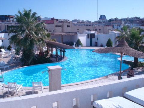 قرية كنابش - Pool View