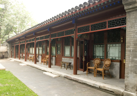 Qintang Courtyard 7 - Back yard