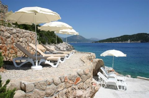 Hotel Bozica - private beach