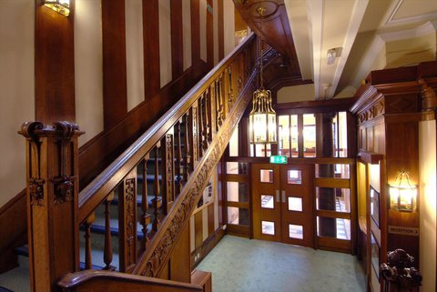Glasgow Youth Hostel - Staircase