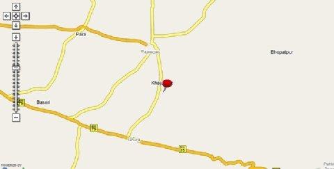Usha Bundela Hotel - Map