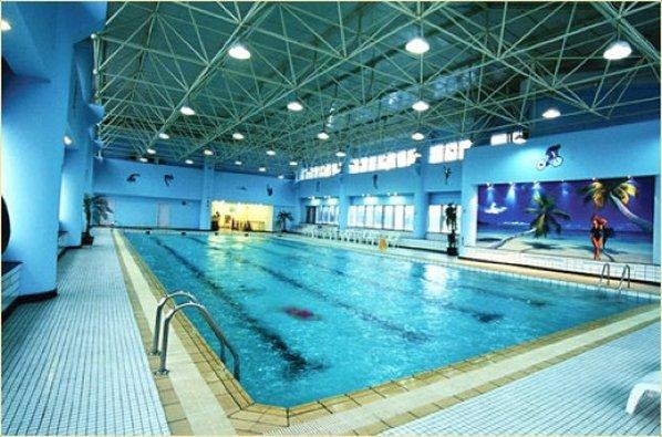嘉兴阳光大酒店 游泳池视图