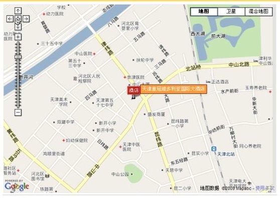 Victoria International Hotel Luxury 地図