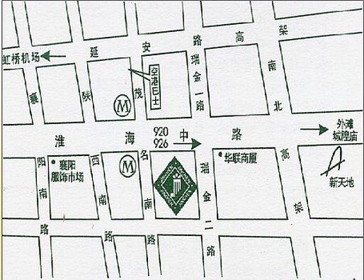 Jinchen Business Hotel Map