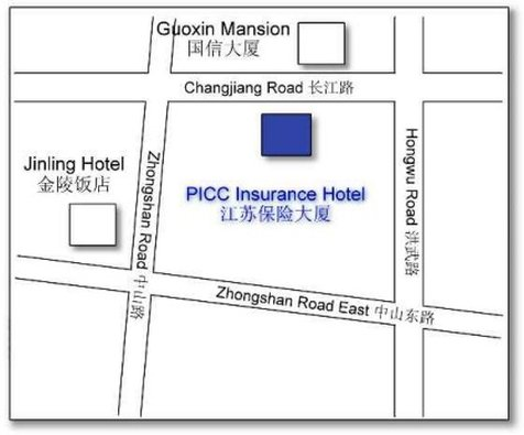 Jiangsu Insurance Mansion Map