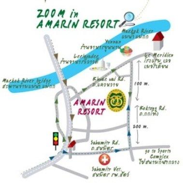 Amarin Resort - Map