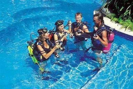 Paradisus Playa Conchal Hotel - Diving Training