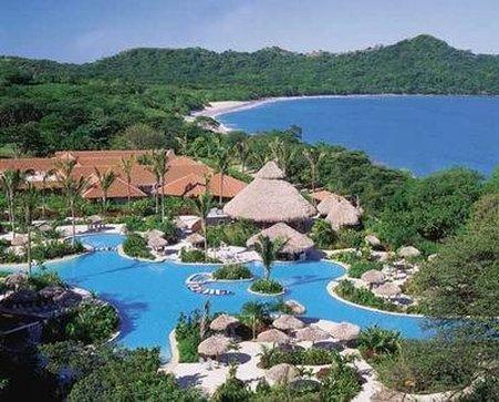 Paradisus Playa Conchal Hotel - Pool Beach Aerial