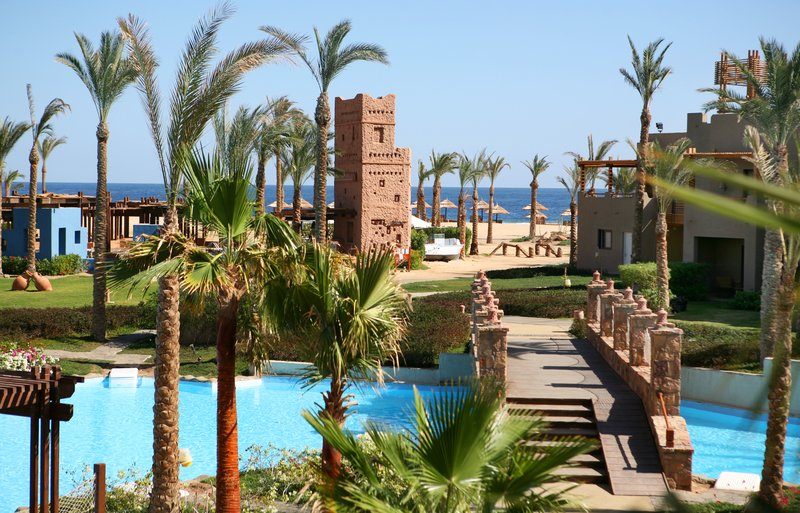 Crowne Plaza Resort Sahara Oasis Port Ghalib Resor レストラン