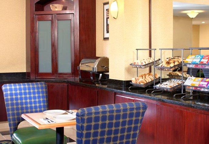 SpringHill Suites by Marriott Gaithersburg Restaurang
