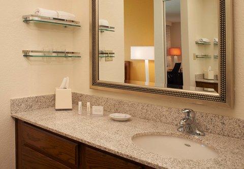 Residence Inn Chicago Waukegan/Gurnee - Suite Vanity Area