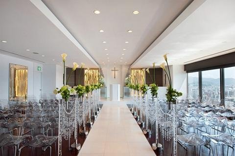 Crowne Plaza ANA HIROSHIMA - Sky Chapel celebrating your happiness with angels