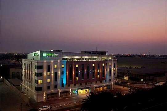 Holiday Inn Express Dubai-Safa Park Fasad