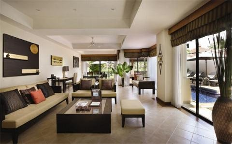 Outrigger Laguna Phuket Resort and Villas - Living Area