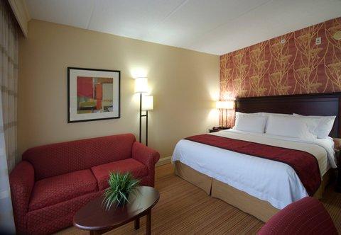 希科里萬怡酒店 - King Guest Room Sitting Area