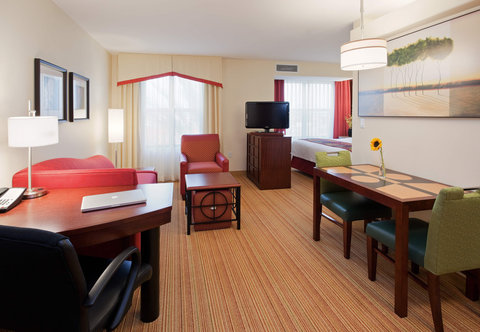 Residence Inn San Diego North/San Marcos - One-Bedroom Double Double Suite