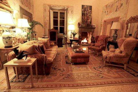 Villa Mangiacane - Royal Suite Lounge