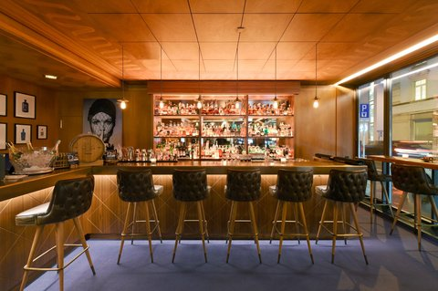 Hotel Glärnischhof - The Bar from the Hotel