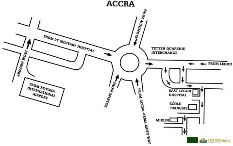 Eastgate Hotel - Directions