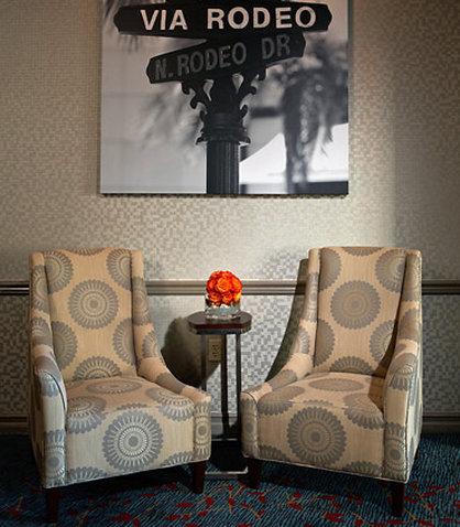 Residence Inn Beverly Hills Lobby