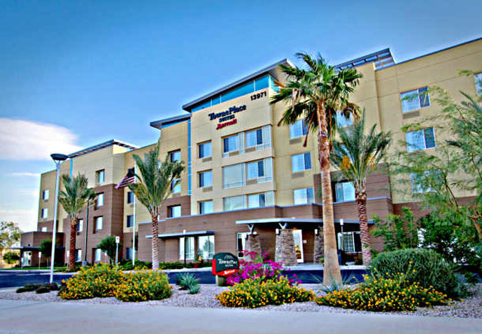 TownePlace Suites Phoenix Goodyear Fasad